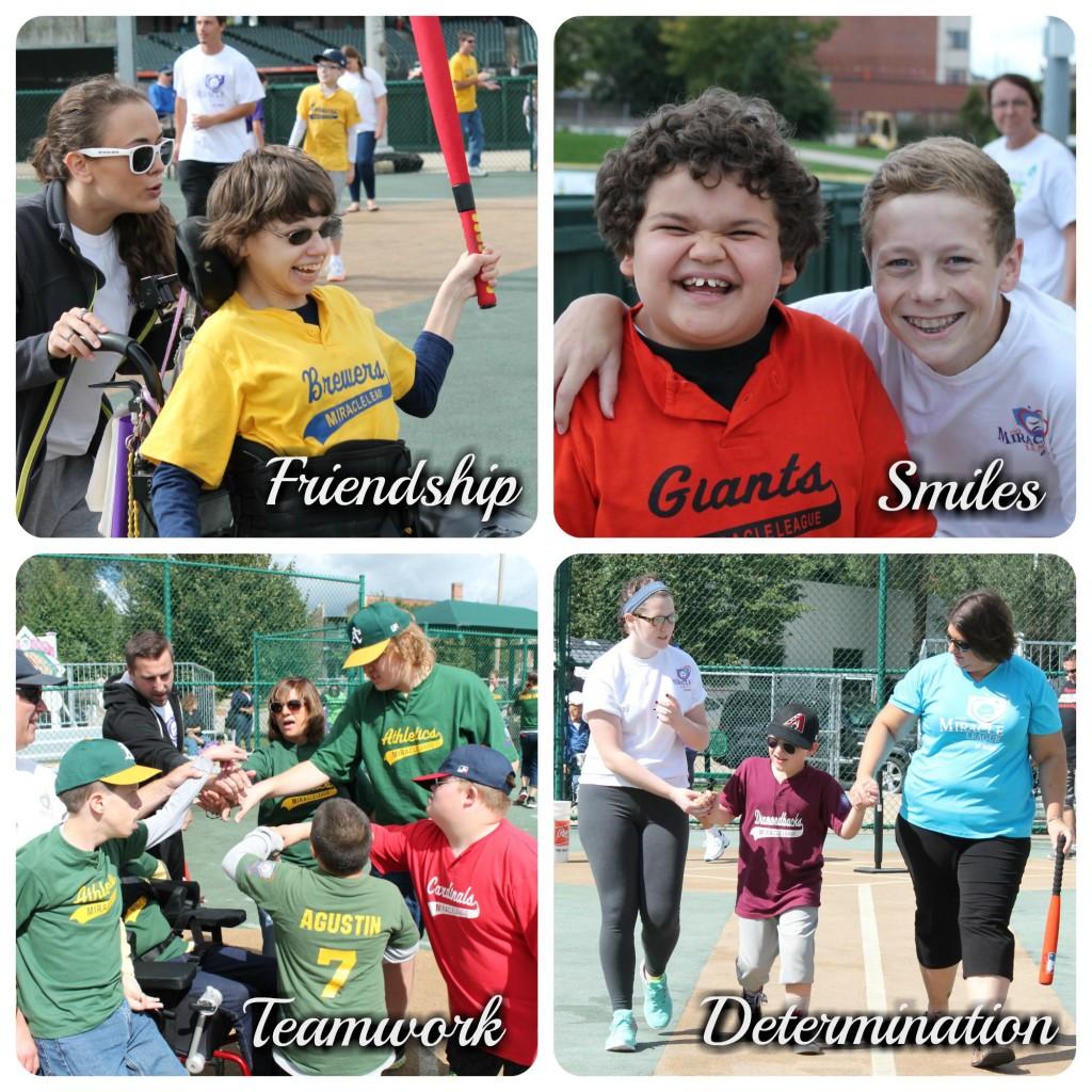 team work-friendship-smiles-determination