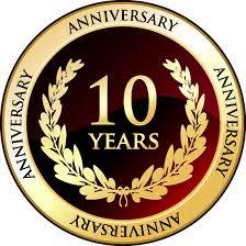 10 Year Anniversary Celebration!